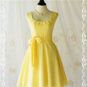 Best Yellow Spring Dress Products on Wanelo