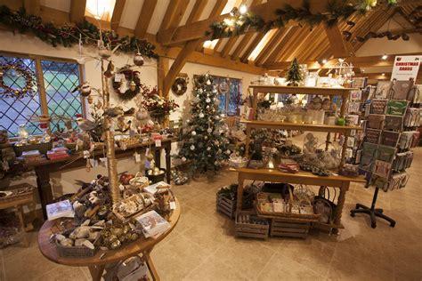 Christmas Shop Pashley Manor Gardens