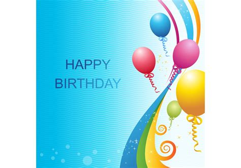 Vector Birthday Template Download Free Vector Art Stock