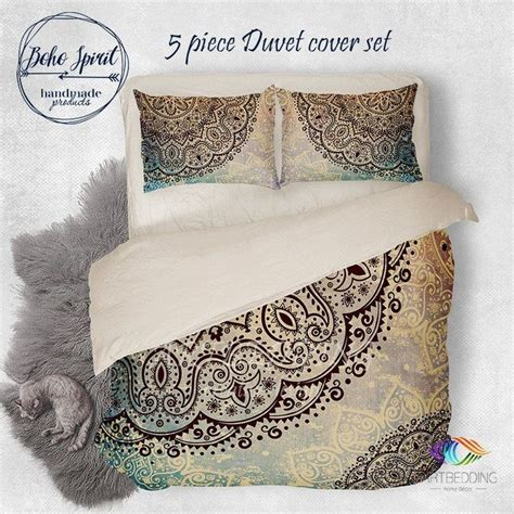 bohemian bedding sets ideas  pinterest bed cover sets boho comforters  bed