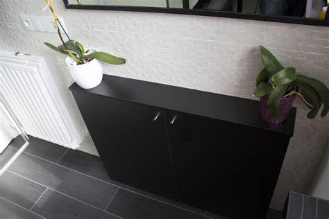 meuble faible profondeur cuisine meuble sous vasque lhp cm blanc sensea galerie avec meuble