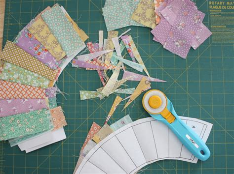 scrappy trip along progress and new olfa splash diary of a quilter a quilt blog