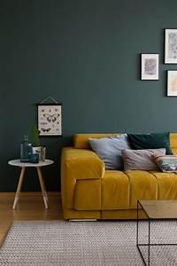 Grau Grün Wandfarbe : wandfarbe gr n die besten ideen und tipps zum streichen ~ Frokenaadalensverden.com Haus und Dekorationen