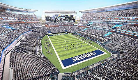 San Diego Officials Say .1-billion Stadium Plan For