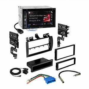 Pioneer Double Din Car Radio Stereo Dash Kit Wire Harness