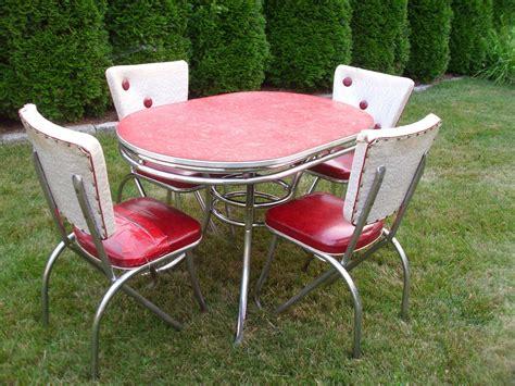 vintage  kitchen table chairs vintage kitchen