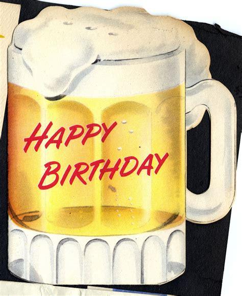 edith hornik beer digital scrapbook birthday card