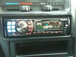 Alpine Cda-105 - 1995 Mazda Mx-6