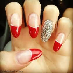 Attractive red nail designs uk fashion design