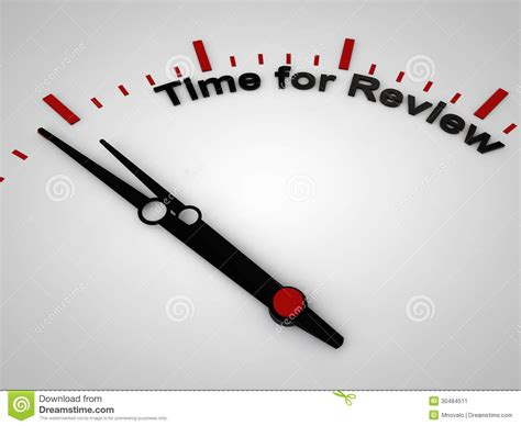 Time For Review Stock Image - Image: 30484511