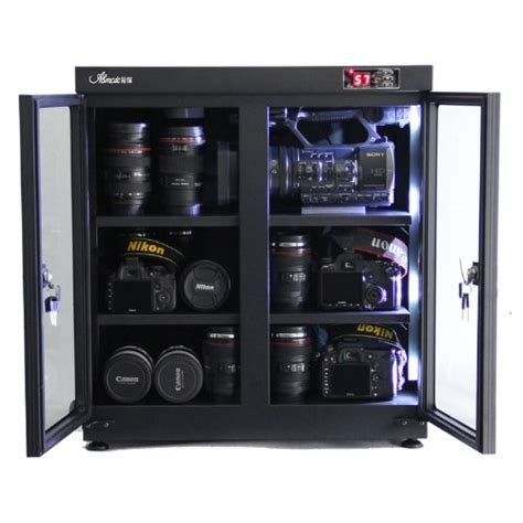 camera equipment storage cabinet dry box cabinet storage for dslr camera lens cabinets
