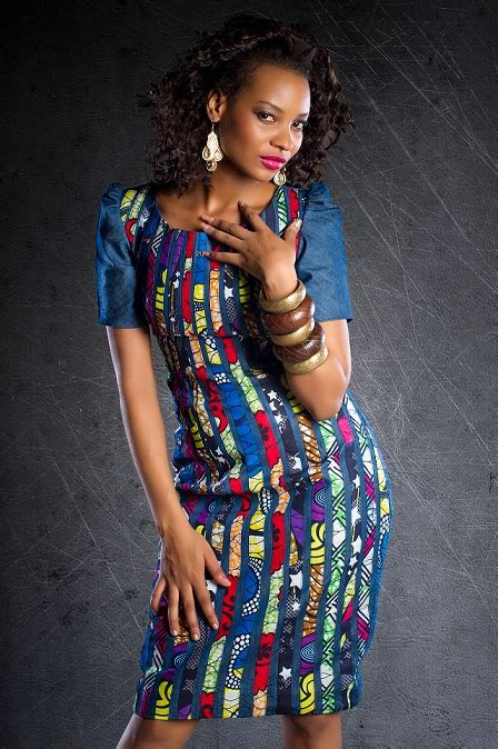 African Kitenge Dress Designs 2018 For Women Pictures