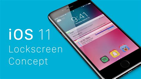 ios concept imagines big iphone lockscreen
