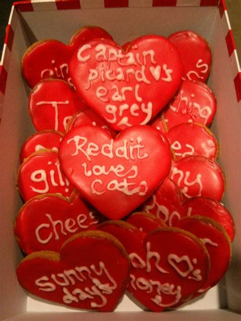 anniversary gift wife  husband personalized cookies