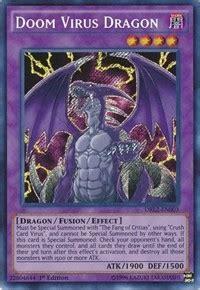 Deck Devastation Virus Ruling by Doom Virus Dragons Of Legend 2 Yugioh