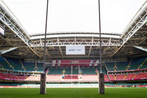 principality stadium roof   open  wales  ireland rugby world