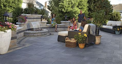 unilock brewster 3 patio design tips for your bergen county nj landscaping