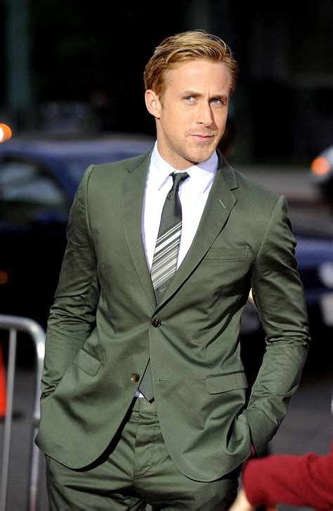 gosling has a brand awesome way of suiting up gq