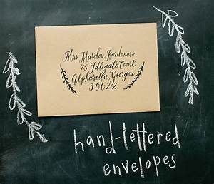 welcome to mary harris events hand lettered wedding envelopes With hand lettered envelopes