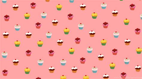 Cute Pink Cupcake Wallpapers