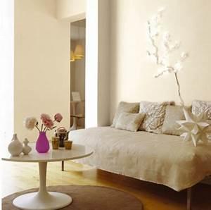 Blanc Cassé Peinture : peinture blanc cass et couleur lin pour d co salon zen ~ Melissatoandfro.com Idées de Décoration