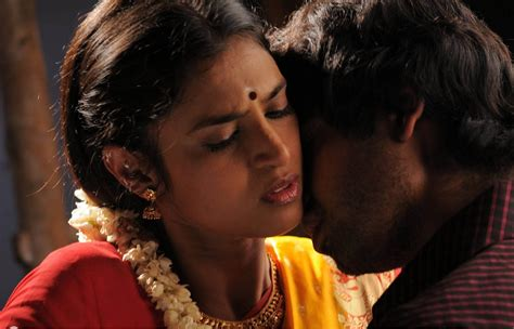 kiss for actress kasthuri hot navel and cleavage kissing photos from tamil