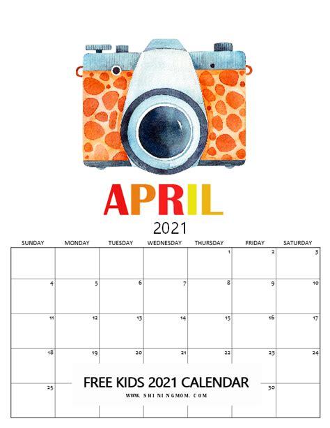 kids calendar   super cute theme  fun