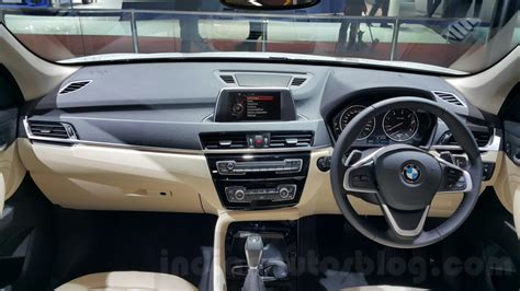 2016 bmw dashboard 2016 bmw x1 dashboard at the auto expo 2016 indian autos