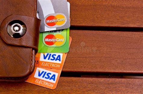credit cards editorial photo image  mastercard