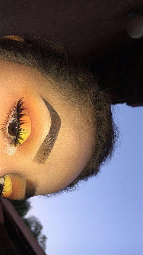 pinterest dynne makeup maquiagem amarela  tutorial de maquiagem facil