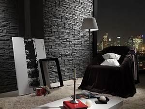 Steinwände Für Innen : steinoptik onlineshop steinwand grau innen ~ Michelbontemps.com Haus und Dekorationen