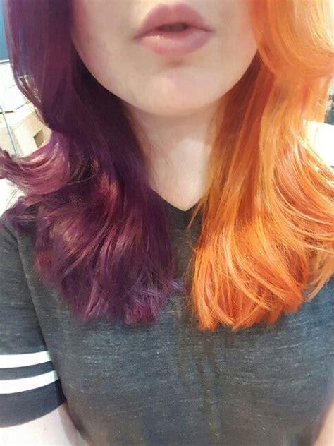 Best 20 Half Dyed Hair Ideas On Pinterest Cotton Candy