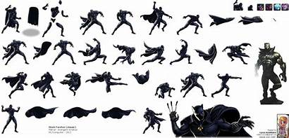 Panther Marvel Avengers Sheet Alliance Classic Action