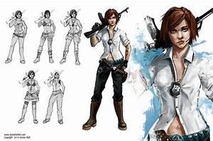 Graffiti Girl Character Sheet2 by Turkiish on DeviantArt