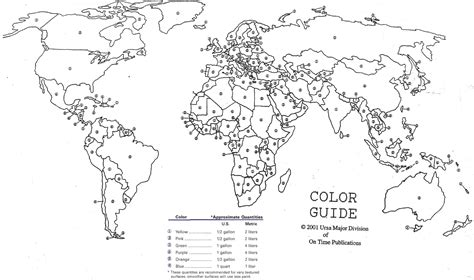 how to paint u s and world maps kaboom
