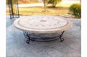 Table De Jardin En Fer Forgé Mosaique. table de jardin fer forg et ...