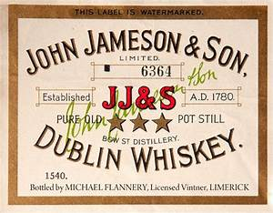 111 best whisky logo images on pinterest bottle With jameson whiskey label template