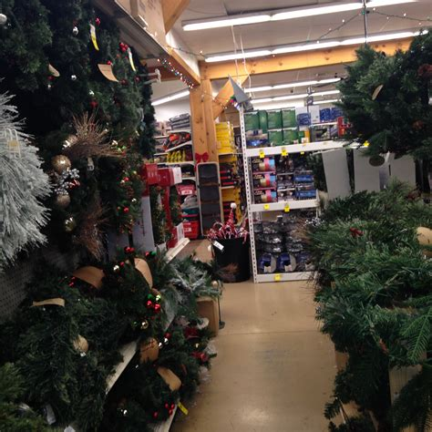 ace hardware winter garden trees and decorations weaver s ace hardware