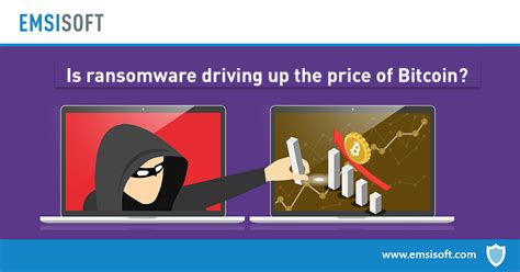 Ransomware operators have also improved on their methods. Is ransomware driving up the price of Bitcoin? | Emsisoft | Security Blog