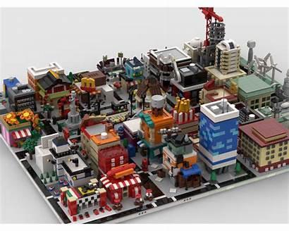 Mocs Moc Modular Build Lego Architecture Micro