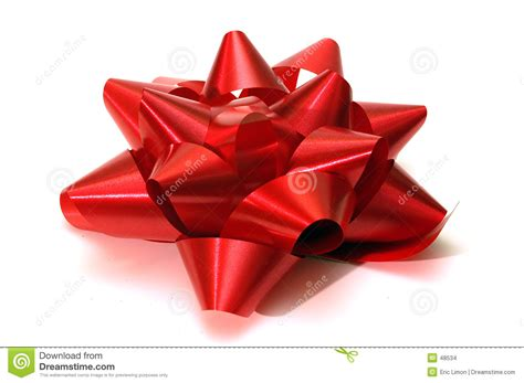 single red christmas bow stock images image