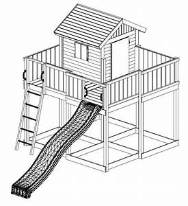 Haus Mit Rutsche : fungoo spielturm my space xl aus holz mit rutsche holzhaus griffe steuerrad fernrohr griffe ~ Orissabook.com Haus und Dekorationen