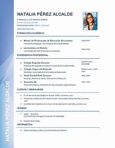 Elaboración del curriculum de profesores Plantillas de CV para enviar a colegios privados