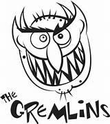 Gremlins Coloring Gizmo Colorear Clipart Gremlin Monster Dibujos Scary Dibujo Printable Sheets Template Mohawk Titans Library Teen Popular Monstruos sketch template