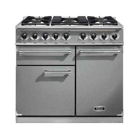 falcon range cooker falcon range cookers 1000 deluxe dual fuel range cooker f1000dxdfss cg stainless steel with