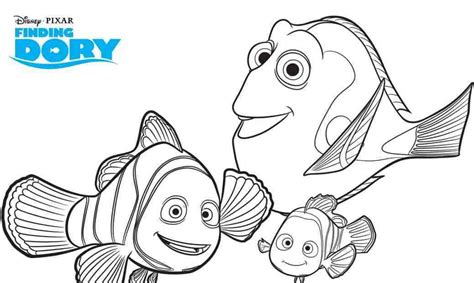 finding dory printable coloring pages mama cheaps