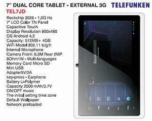 Telefunken TEL7JD 7.0 WiFi Tablet, Tiptop Online Shopping ...