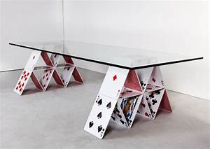 Playing with Design: House of Card Table by Mauricio ...