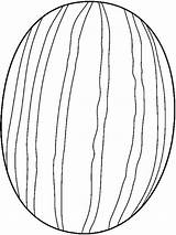 Watermelon Coloring Pages Fruits Printable Colors Recommended Mycoloring sketch template