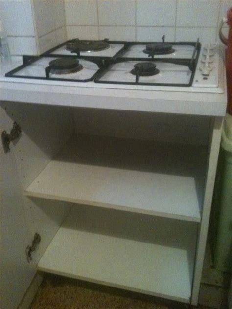 cuisine electrique meuble pour plaque electrique cuisine en image